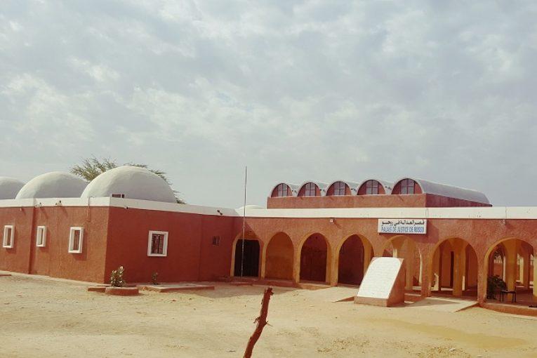 قصر العدل بمدينة روصو عاصمة ولاية اترارزة
