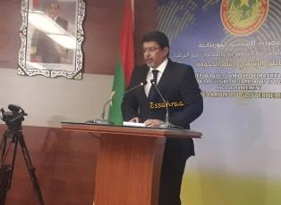 معالي الوزير سيدي محمد ولد محم / الناطق باسم الحكومة