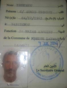 الهوية الكاملة للعمدة / إسلكو بن أحمد بن التشيت