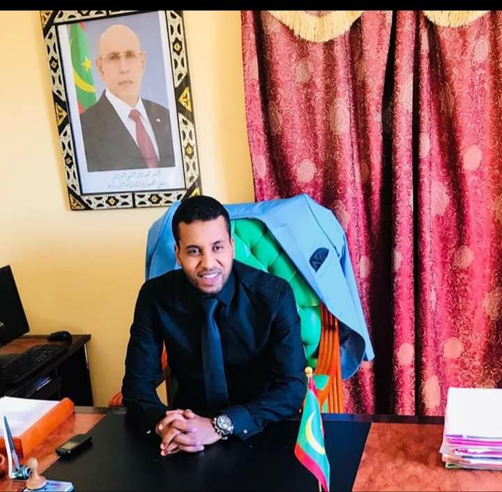 فضيلة القاضى  أحمدو بمب ولد محمدو / وكيل الجمهورية بمحكمة ولاية الحوض الغربي