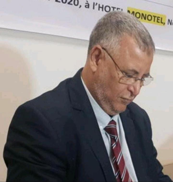 البروفسير محمد عبدالله ولد بلاهي / المدير العام للمركز الوطني للبحوث في مجال الصحة العمومية