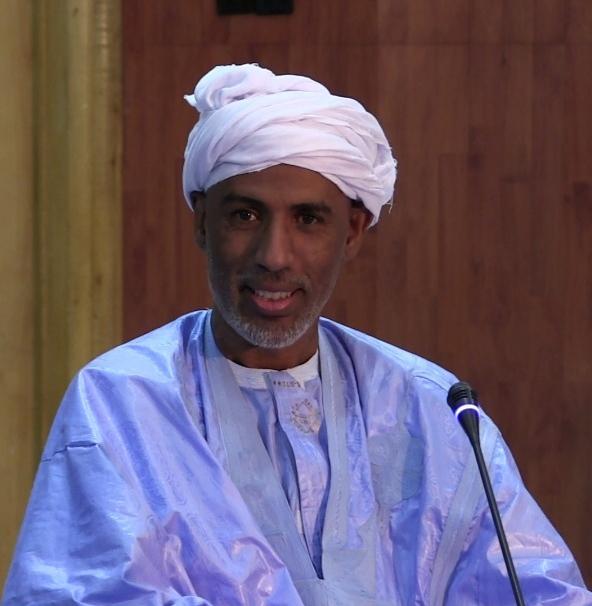 الفقيه المستنير الاستاذ الدكتور / الشيخ ولد الزين ولد الامام