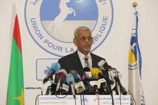 السيد سيدي محمد ولد الطالب أعمر / رئيس حزب الاتحاد من أجل الجمهورية