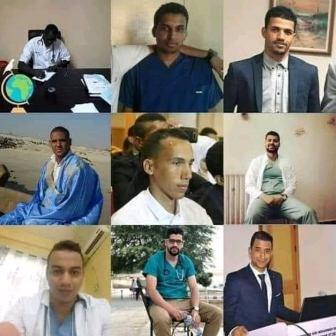 عدد من الاطباء الموريتانيين ممن ثبتت إصابتهم بفيروس كورونا
