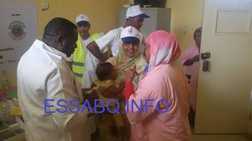 هيئة الإغاثة الإسلامية تقيم مخيما طبيا بموريتانيا