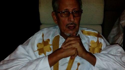 الرئيس : سيدي محمد ولد الشيخ عبد الله