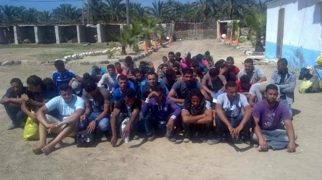 شباب موريتانيين وهم في معتقل آنكولي