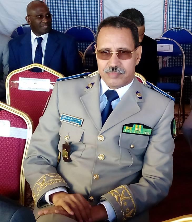 الجنرال : مسقارو ولد سيدى قائد اركان الحرس الوطني