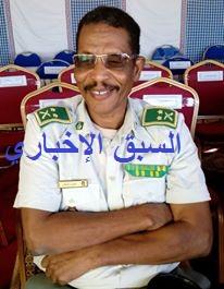 الجنوال : محمدن ولد بلال قائد تجمع أمن الطرق