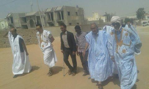 الرئيس أحمد ولد داداه يطبق ماعدا إليه انصاره