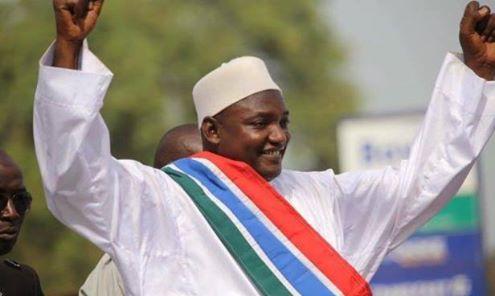 الرئيس الغامبي الجديد / آداما بارو