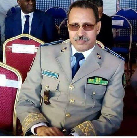 الفريق مسغارو ولد سيدي  ولد أقويزى / المدير العام للأمن الوطني