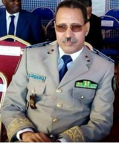 االفريق مسقارو ولد سيدي / قائد اركان الحرس الوطني