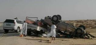 صورة من الحادث الأليم