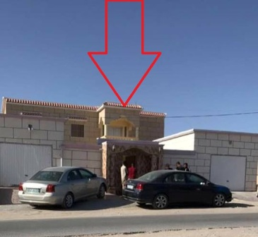 المنزل الذي يتخذه الأتراك وكراً لتوثيق افلام إباحية ابطالها فتيات موريتانيات