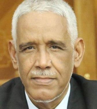 وزير العدل الموريتاني الأستاذ: ابراهيم