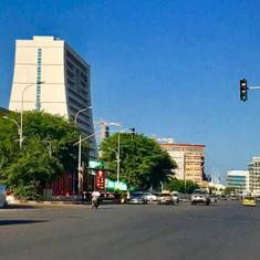 قلب العاصمة  حيث تكثر عمليات السطو و الإعتداء على الناس في وضح النهار