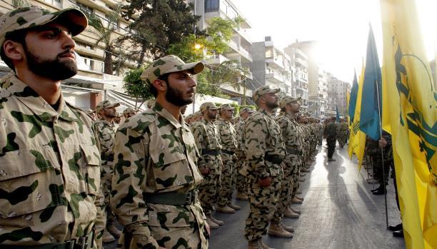 استهداف غرفة عمليات حزب الله بريف درعا (Getty)