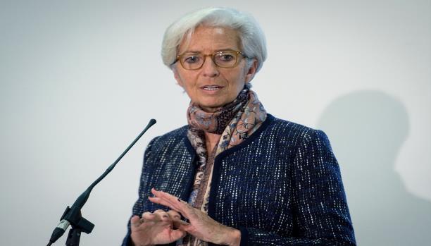 المديرة العامة لصندوق النقد الدولي، كريستين لاغارد (فرانس برس)