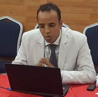 المرحوم  المهندس الشاب الخلوق ابرهام ولد أحمد خليفه ـ رحمه الله تعالى ـ