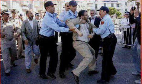 وزير العدل المغربي في قبضة الشرطة
