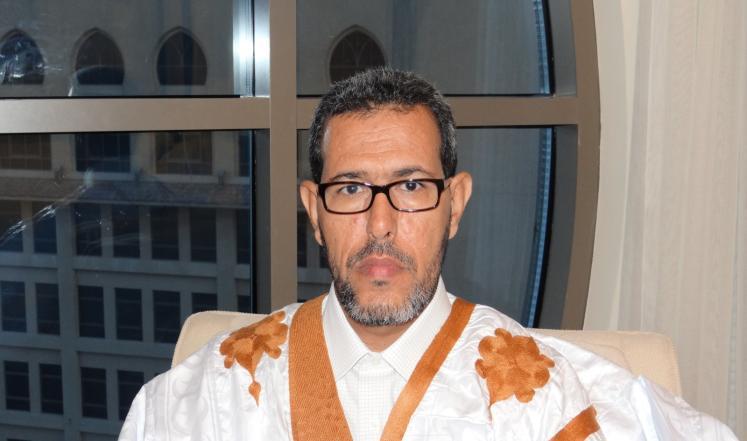 زعيم المعارضة الديمقراطية العمدة : الحسن ولد محمد