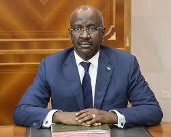 الدكتور محمد سالم ولد مرزوك / وزير الداخلية الموريتاني