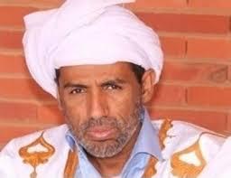 العالم و الفقيه الموريتاني المشهور الشيخ ولد الزين عضو نقابة المحامين الموريتانيين