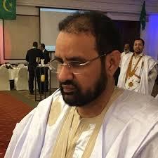 السيد محمد سالم ابو عبدالرحمن النائب في البرلمان الموريتاني عن دائرة آسيا و العالم العربي