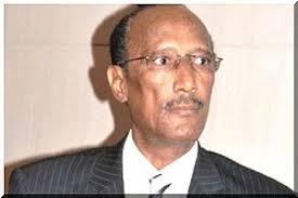 """الرئيس السابق للبرلمان الموريتاني و العقيد بالجيش الوطني رئيس """" حزب الوسط الديمقؤاطي """""""