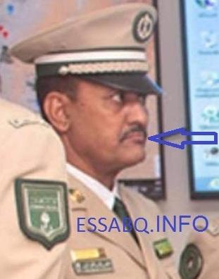 العقيد الدركى محمدو ولد أيده  المتهم بممارسة التعذيب و استغلال النفوذ و الصفة