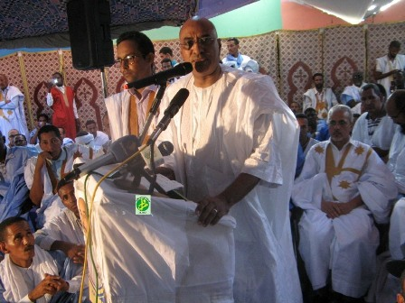 السيد إسملو ولد أمينوه / مستشار الوزير الأول المكلف بحقوق الإنسان