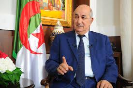 السيد / عبد المجيد تبون ـــــــــ رئيس الجمهورية الجزاىرية