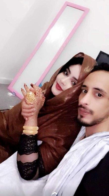 المدعوة غرام و زوجها السابق ايام الصفا قبل الجفا