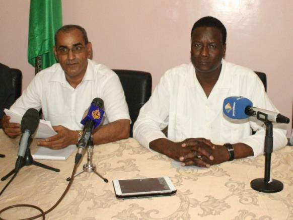 وزيرا الصيد والبيئة الموريتانيان