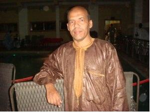 الكاتب المتألق : محمد الأمين ولد الفاضل