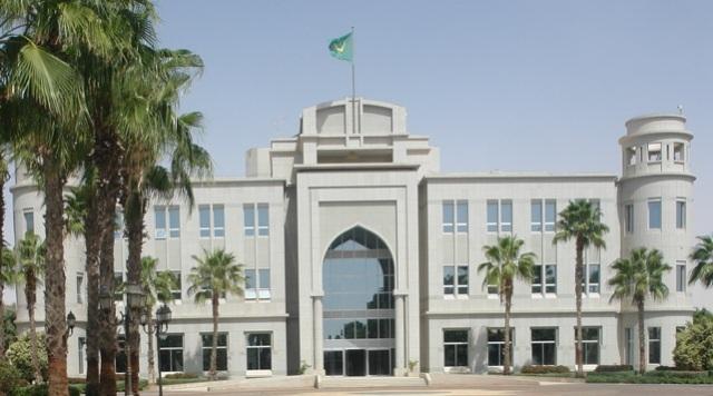 القصر الرئاسي موريتانيا