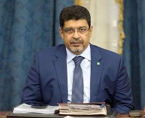 الاستاذ سيدي محمد ولد محم / رئيس الحزب الحاكم في موريتانيا