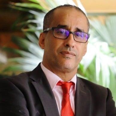 الدكتور / محمد ولد المنير خبير أممي في القانون الدولي إطار بمكتب الأمم المتحدة في تونس
