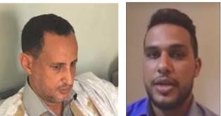 ضابط الصف محمد ولد محمد امبارك  و السيناتير محمد ولد غده .