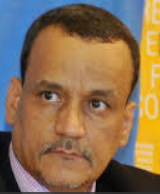 اسماعيل ولد الشيخ أحمد /  وزير الخارجية الموريتاني