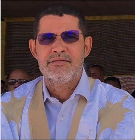 السيد النامو ولد صالحي المحافظ الوطني للتراث والثقافة ـ شفاه الله وعافاه من كل مكروه ـ