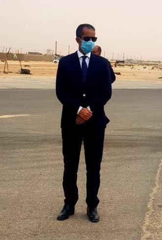 معالي الوزير الأول المهندس / اسماعيل ولد بده ولد الشيخ سيدي