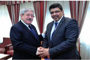 معالي الوزير سيدي محمد ولد محم  في ضيافة الحكومة  الجزائرية
