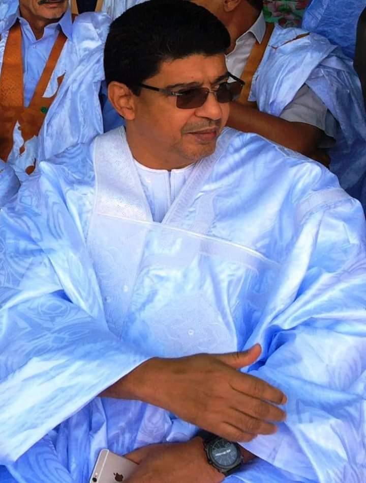 معالي الوزير سيدي محمد ولد محم