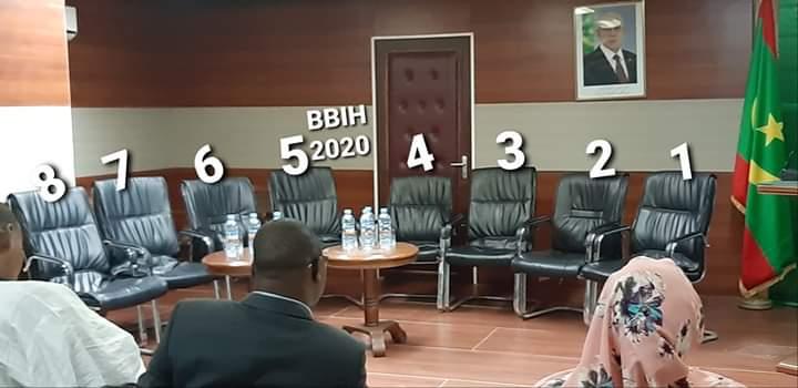 وضع ثماني مقاعد لاعضاء الحكومة ثم سحبها