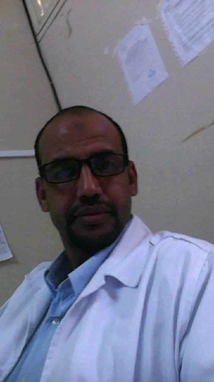 الممرض الشيخ ولد ابراهام  - رحمه الله تعالى -.