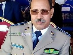 الفريق مسغارو ولد سيدي / القائد العام  لأركان الحرس الوطني