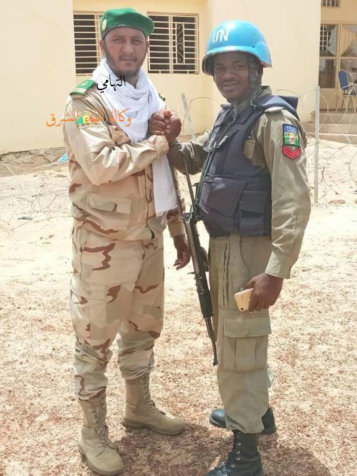 الضابط السامي في الجيش المالي التهامي ولد محمد