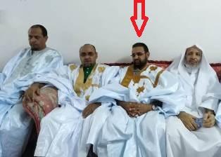 النائب ابو عبد الرحمن اثناء نشاط دعائي لصالح المرشح ولد الغزواني